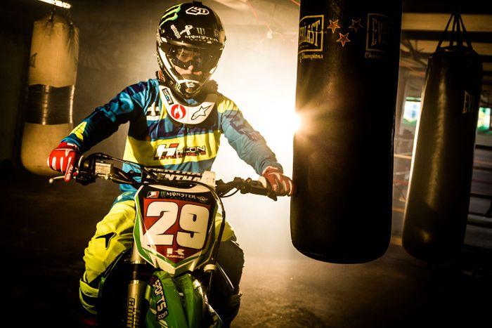 Jector Lopez Professional Motocross rider