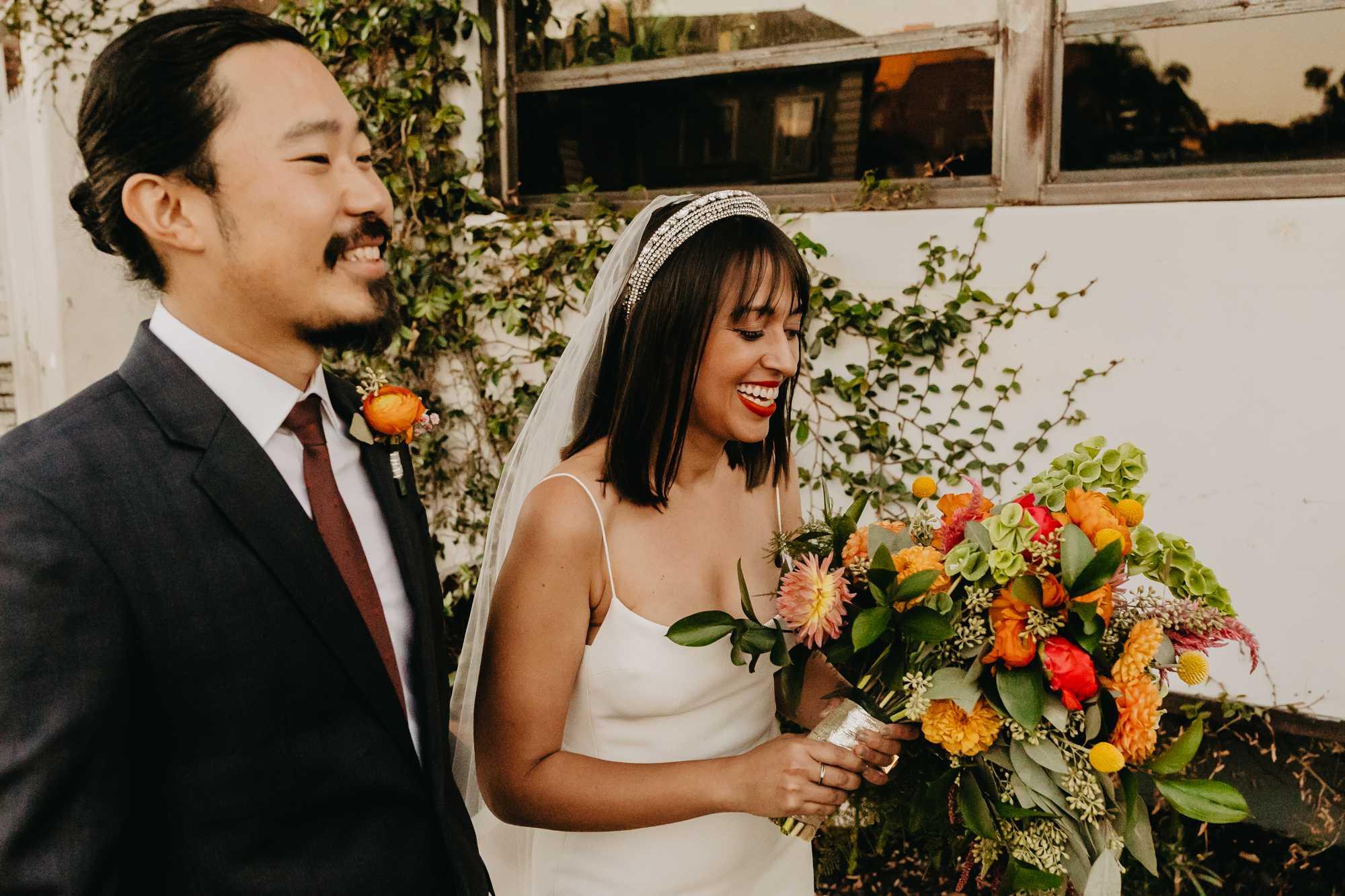 Los Angeles, Hollywood, wedding, Madera kitchen, la, dtla, hot, couple, Nyc couple, destination wedding