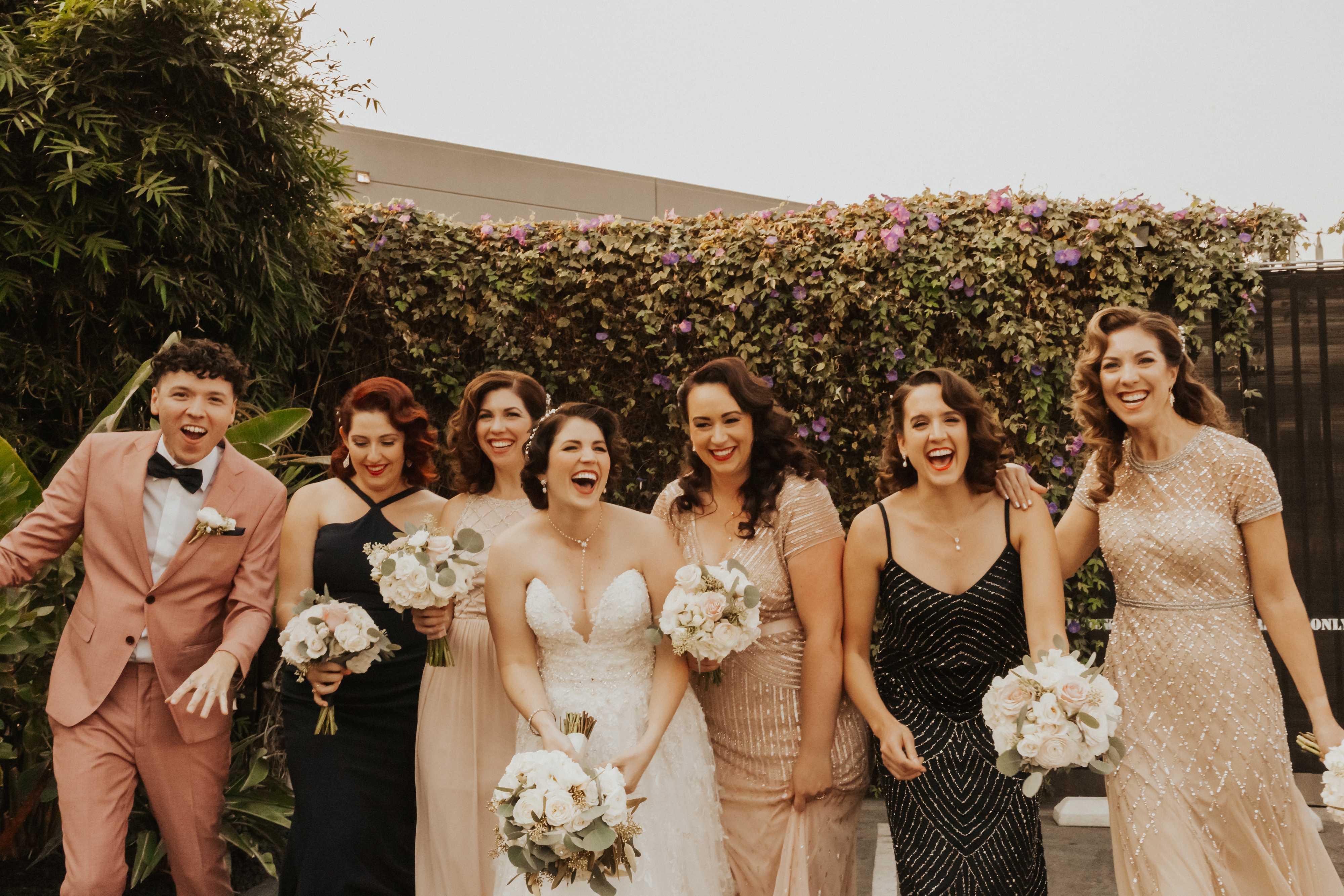 Millwick wedding, DTLA, LA, CA