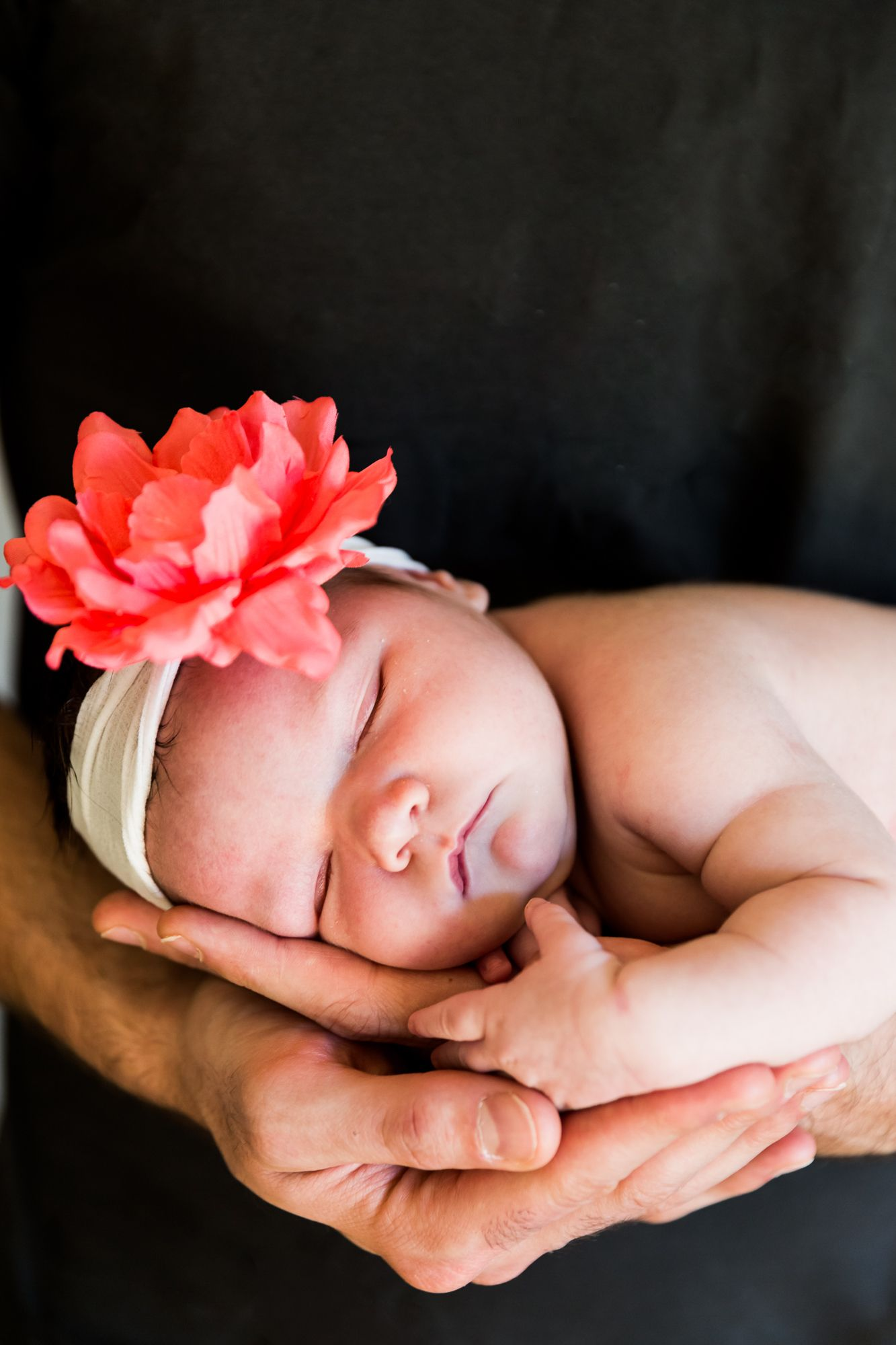 Newborn Sarah, flower, headband