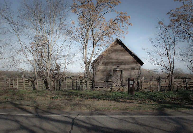 Winter Barn   2009