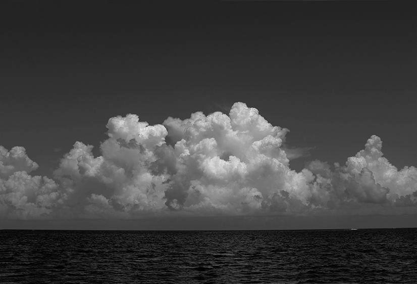 Cloud Hover B&W   2015