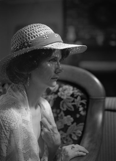 Lauran In a Straw Hat 1995