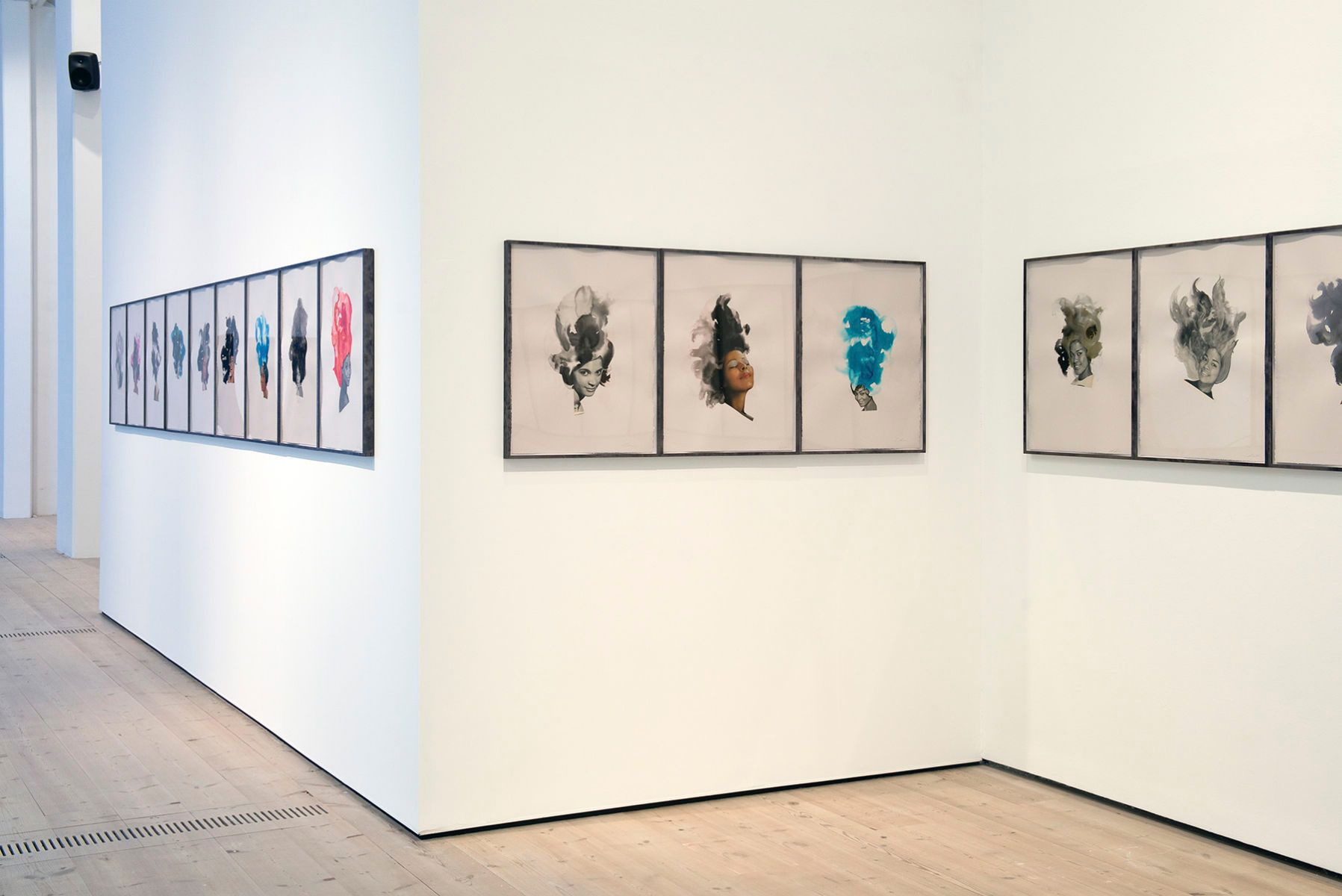Ebony Collages, 2013 (Baltic install view)
