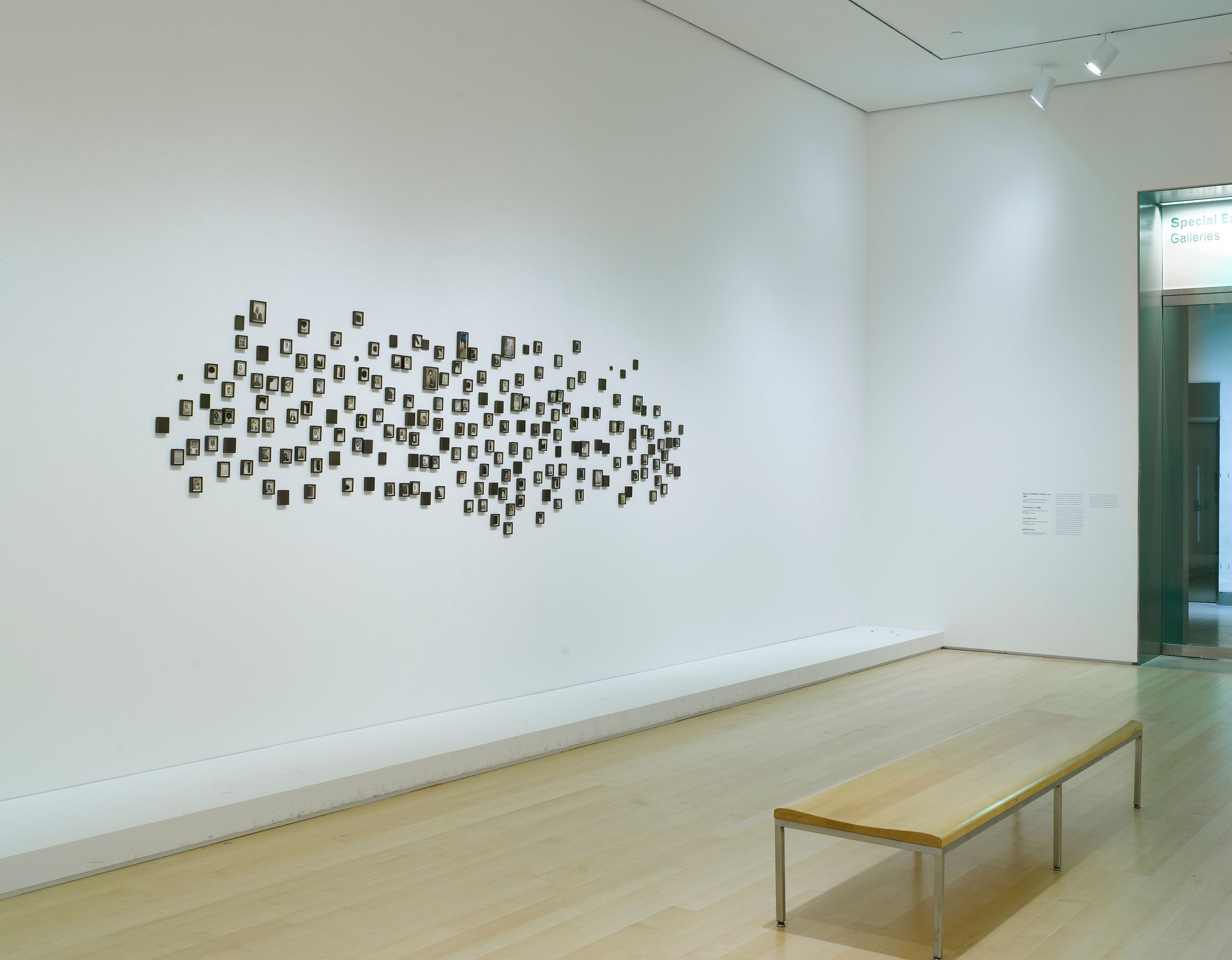 """Lorna Simpson: Gathered"", Brooklyn Museum, 2011 (installation view)"