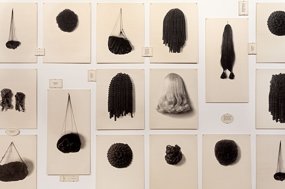Wigs II, 1994-2006 (detail)