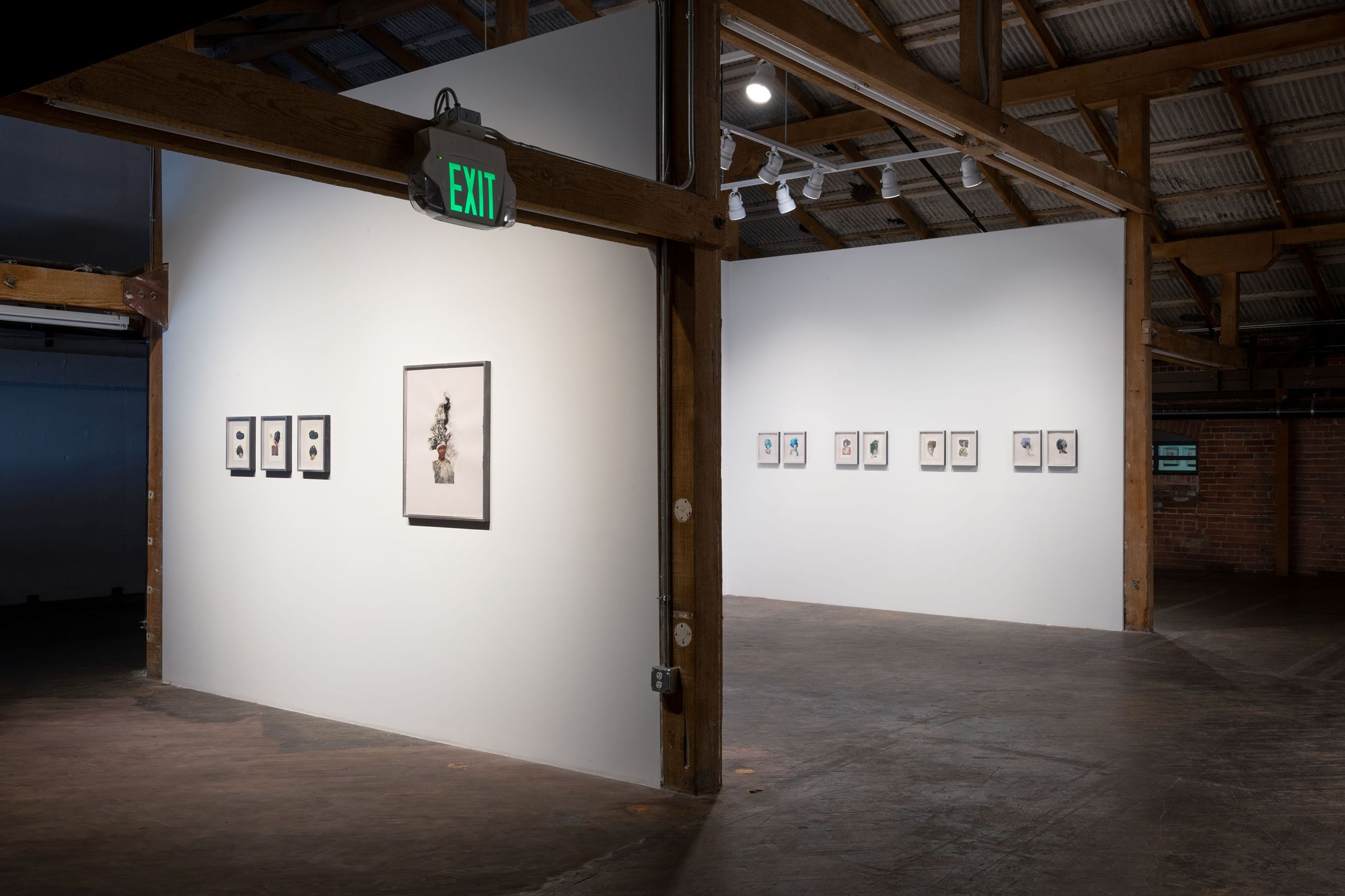"""Special Presentation of Collages by Lorna Simpson"", Hauser & Wirth, Los Angeles, CA 2018"