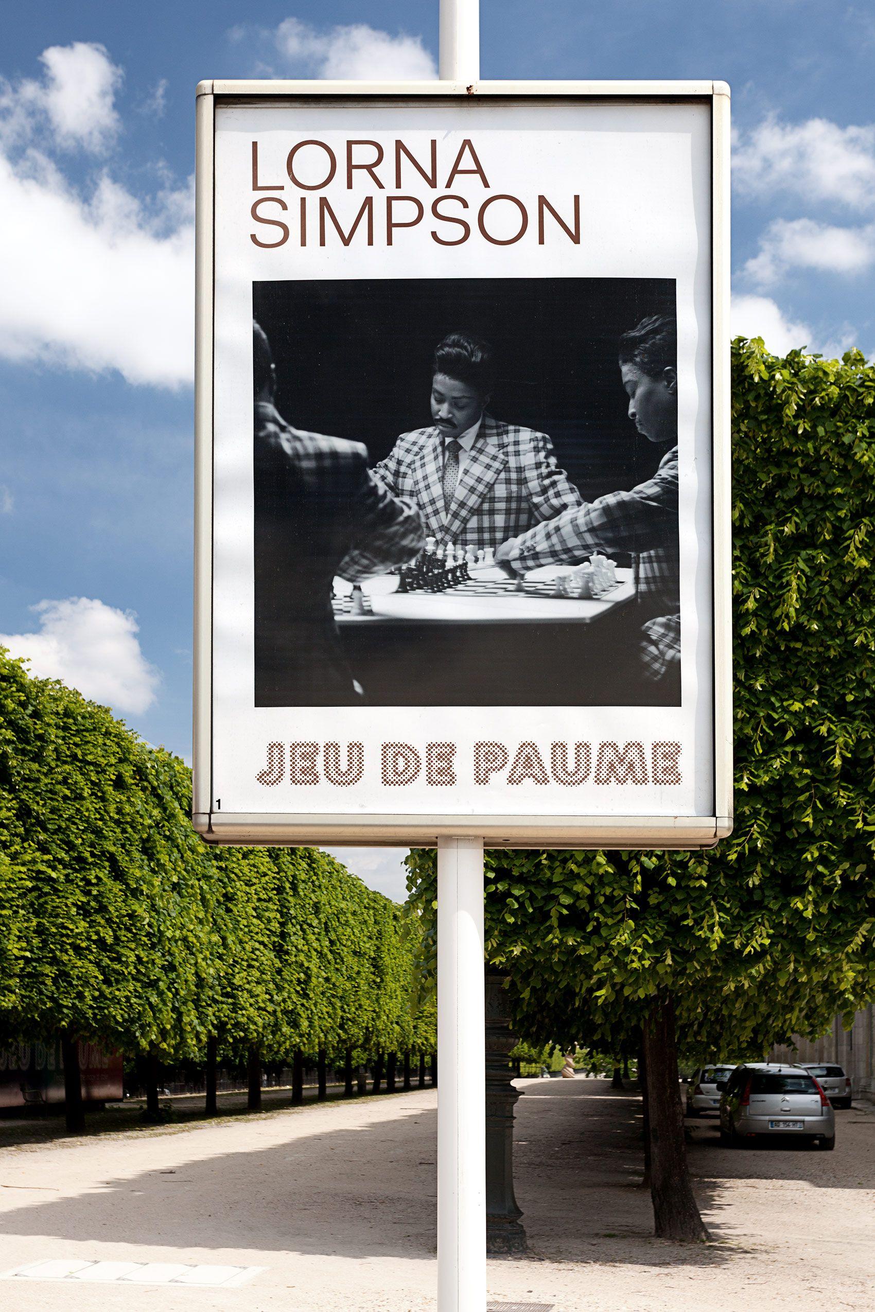 """""""Lorna Simpson"""", Jeu de Paume, Paris, France 2013"""