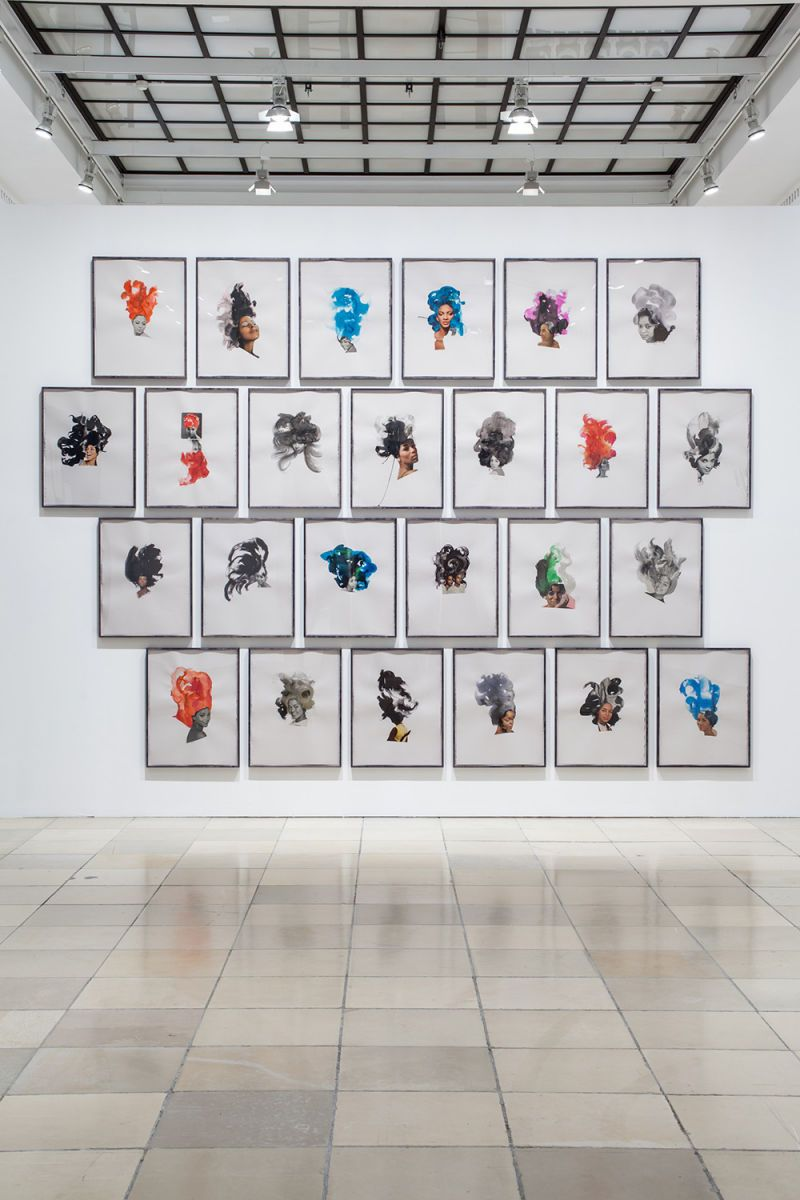 Ebony Collages, 2013