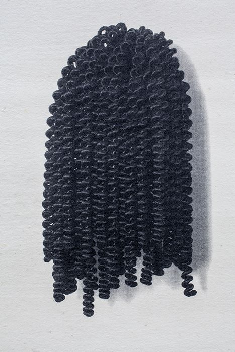 Wigs II, 1994-2006, detail