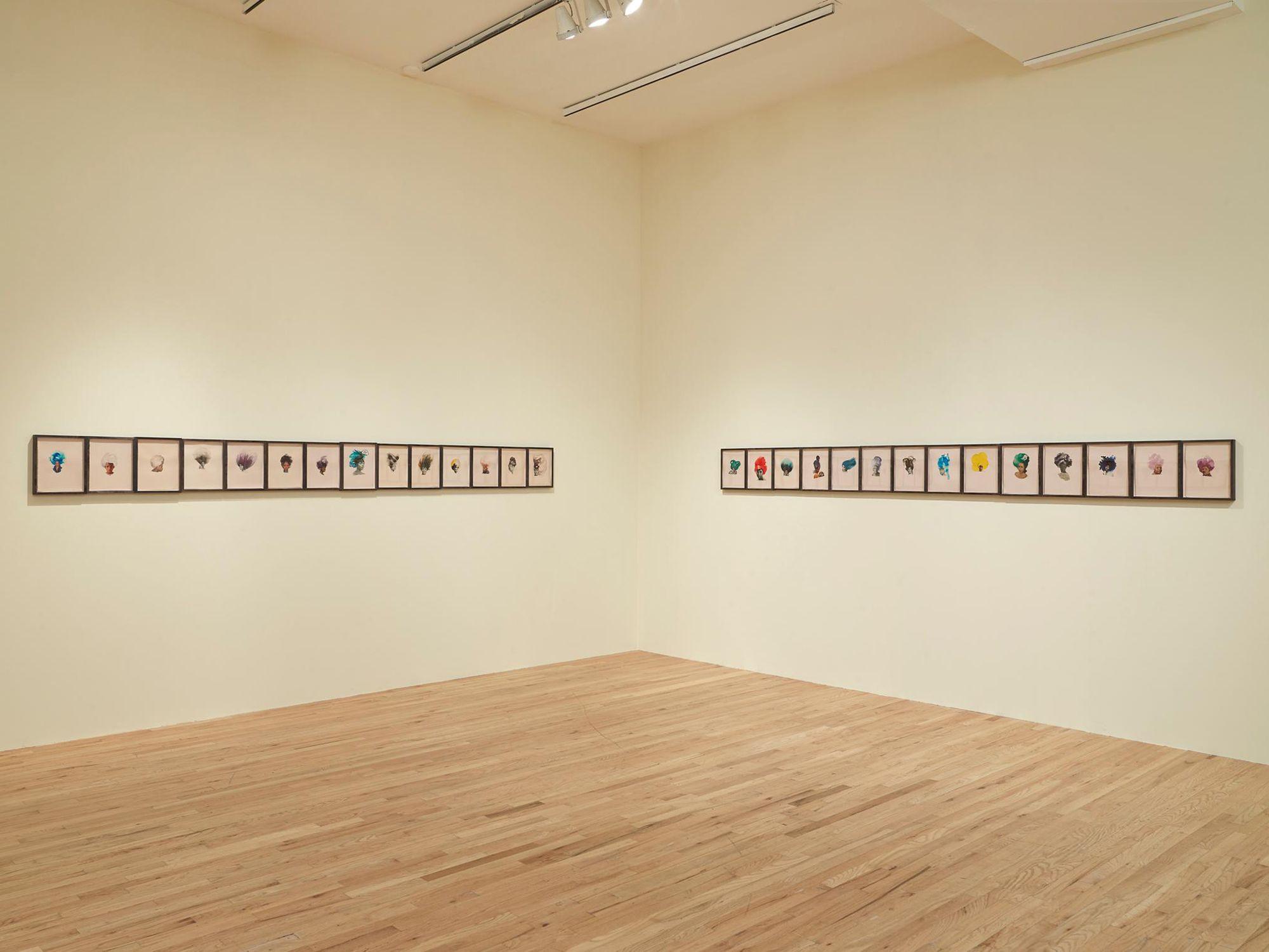 """Lorna Simpson: Works on Paper"", Aspen Art Museum, Aspen, CO 2013"