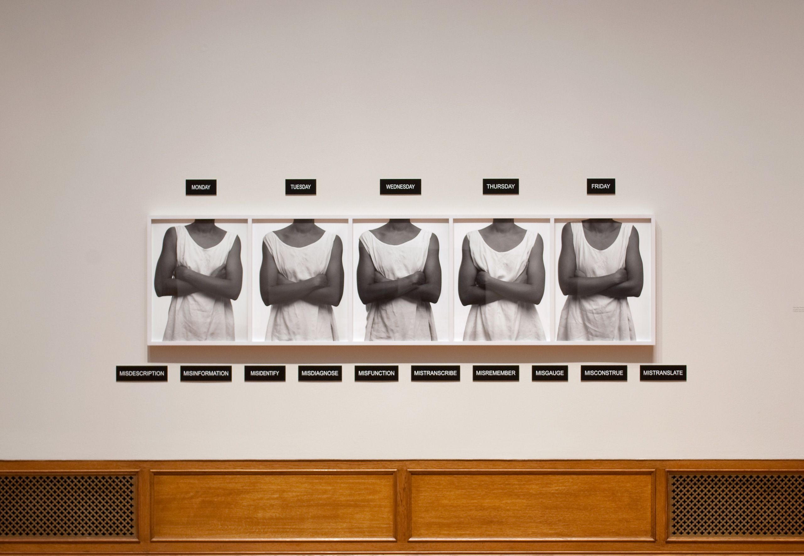 """Lorna Simpson"", Addison Gallery of American Art, Andover, MA 2014-16"