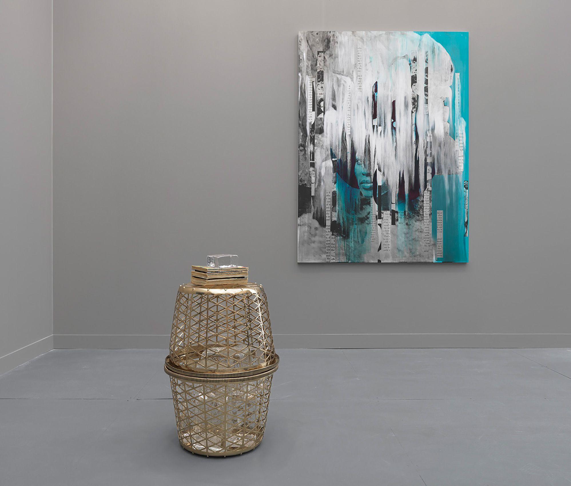 Lorna Simpson: Black & Ice, Hauser & Wirth, Frieze New York, NY 2017