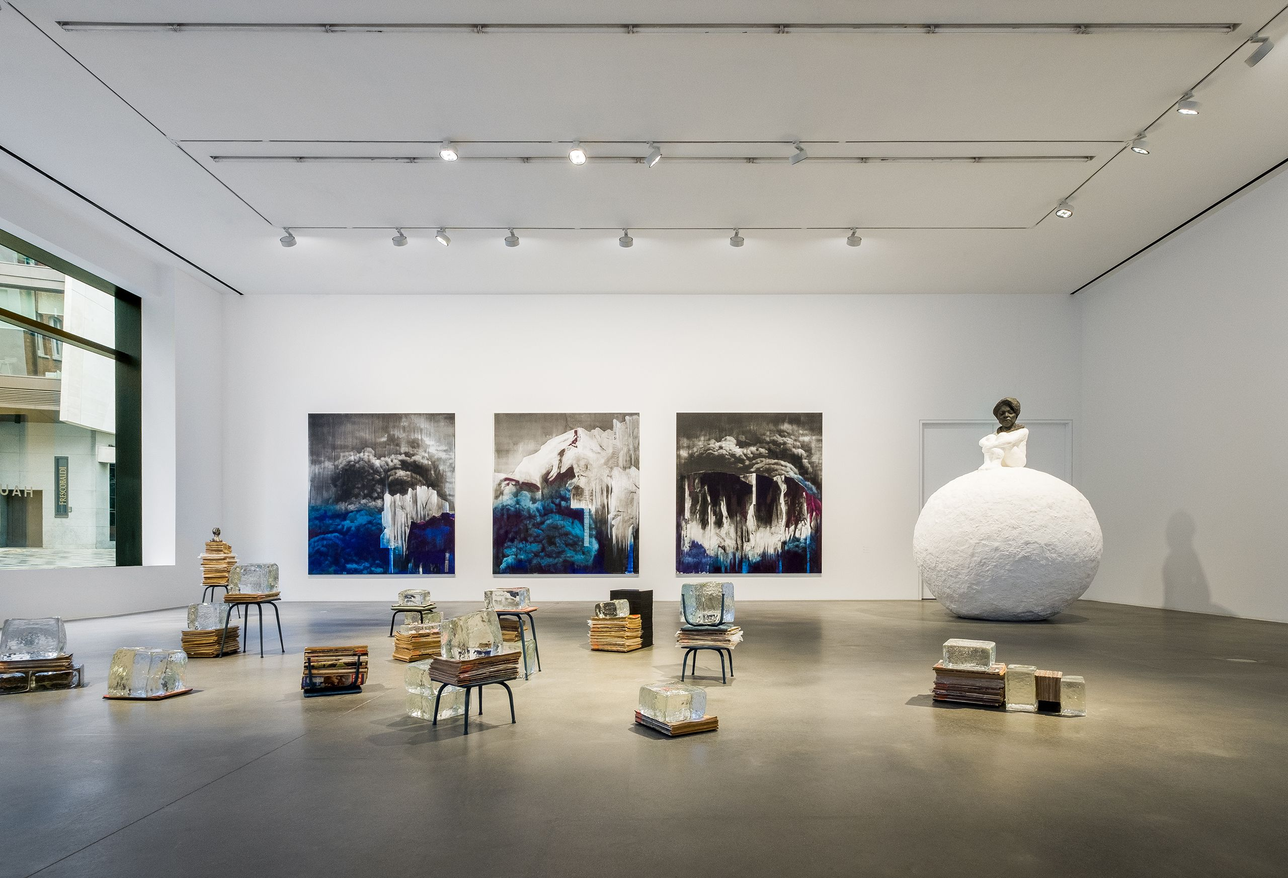 """Lorna Simpson: Unanswerable"", Hauser & Wirth, London, UK 2018"