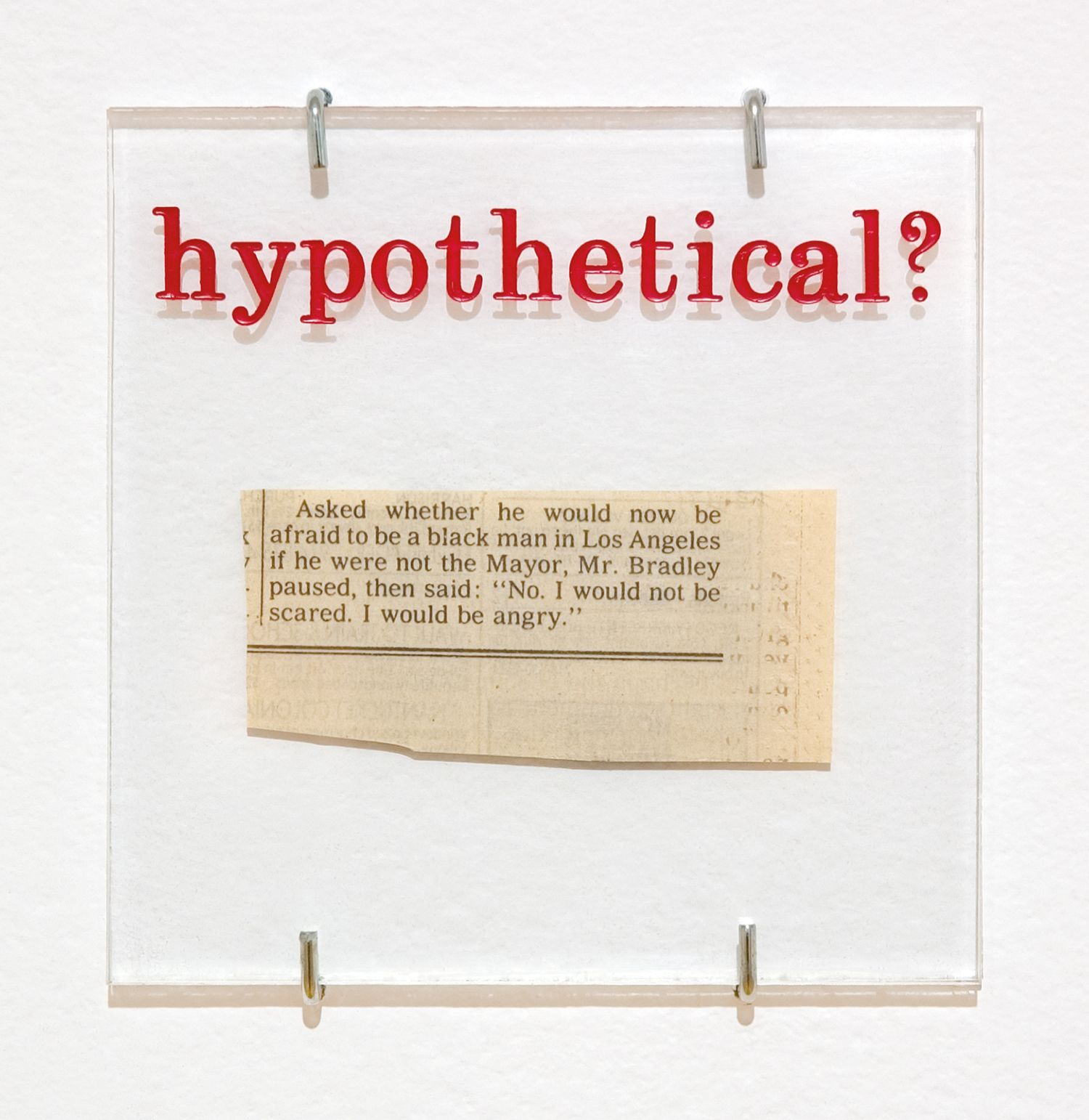Hypothetical, 1992 (detail)