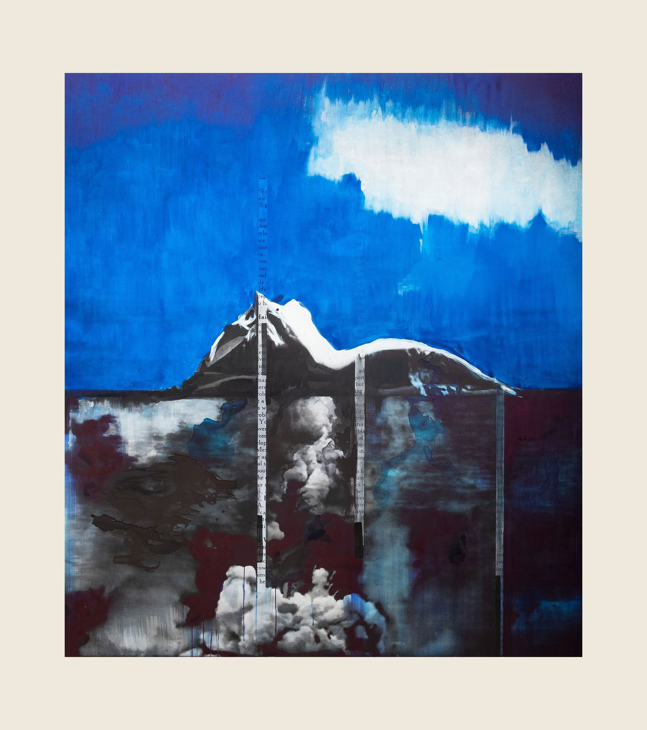 Blue Earth/Sky, 2018