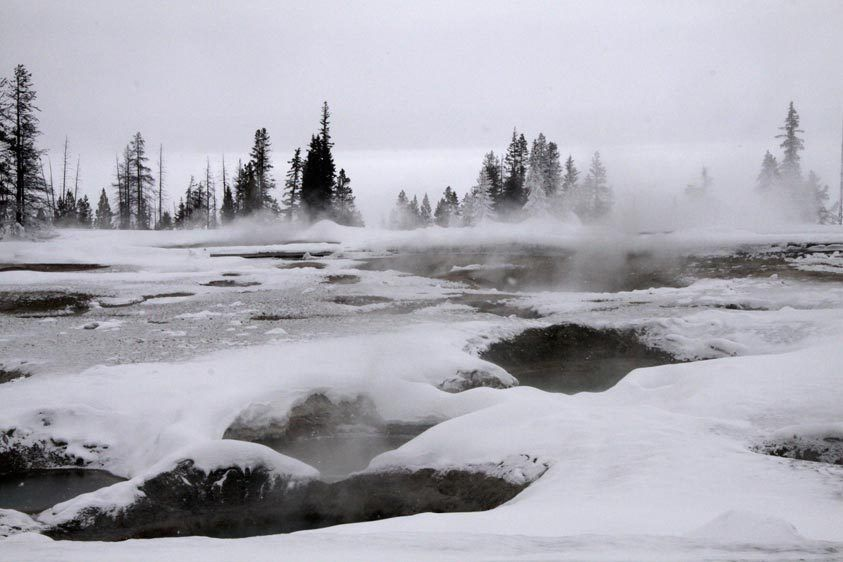 Yellowstone in Winter, Image #4