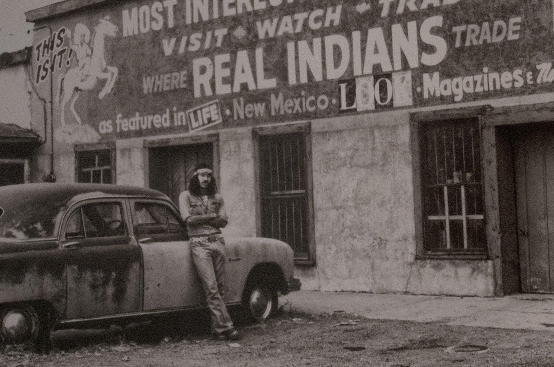 REAL INDIANS, platinum photograph detail