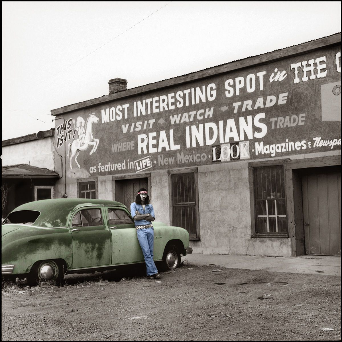 REAL INDIANS, photograph 1977