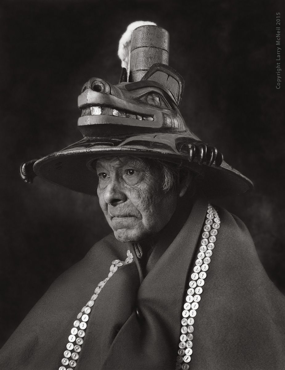 HERBERT JOHNSON, MAN OFTHE BEAR CLAN, photograph 1981