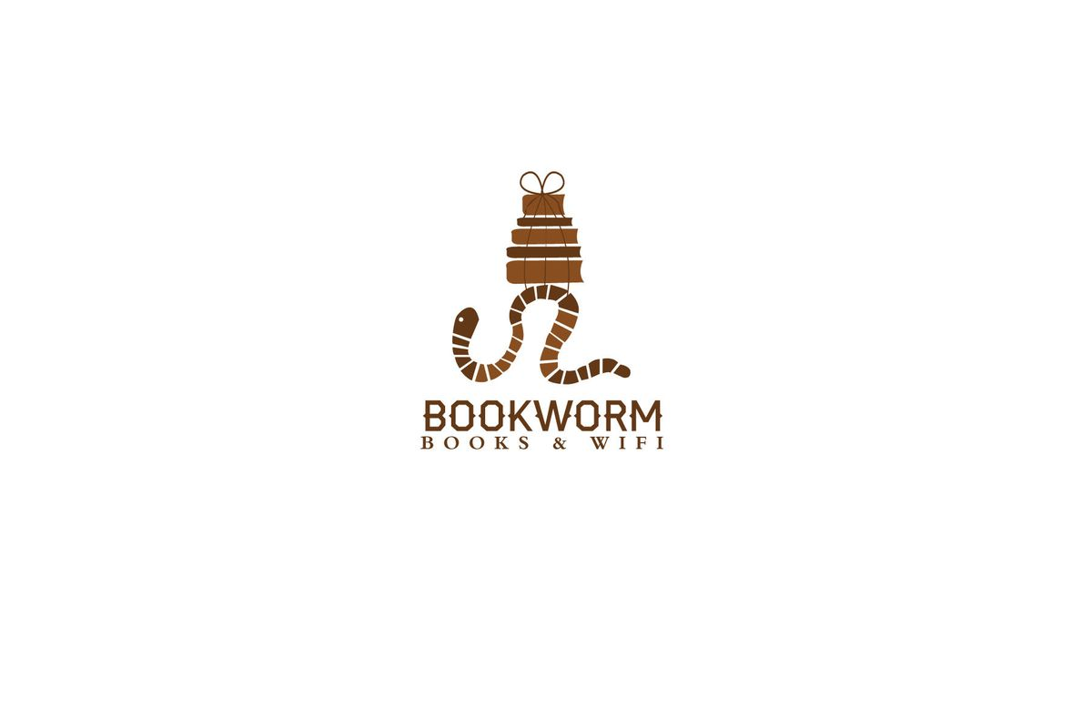 Book Worm Logo