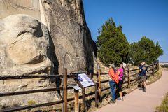 Visitors at El Morro