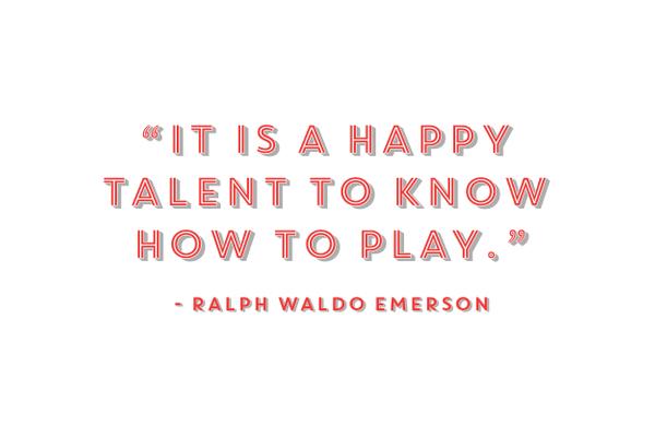 Happy Talent quote by Ralph Waldo Emerson