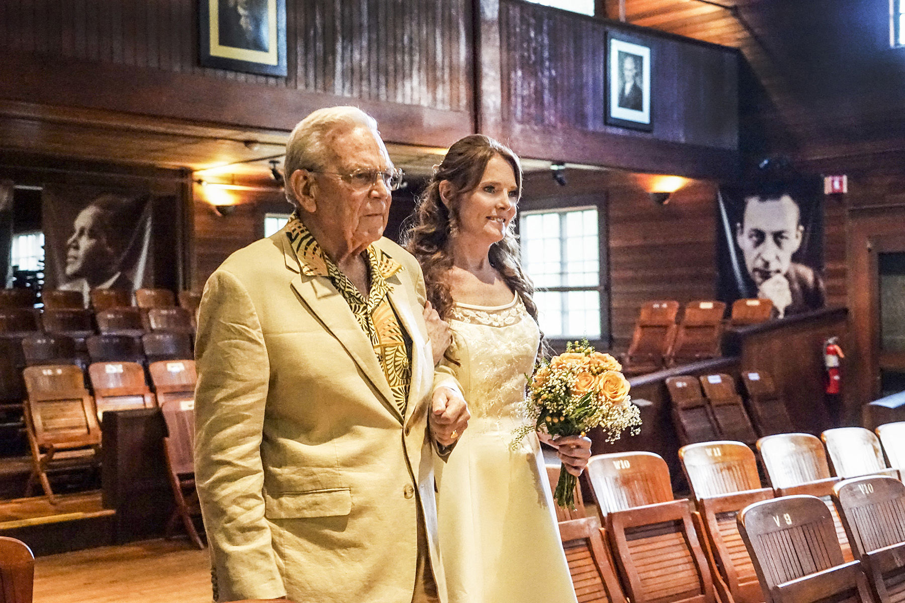 Bride and her Father
