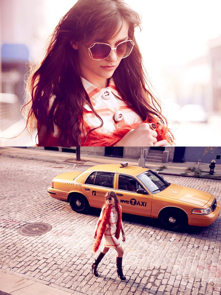 Loli Laneova for Elle magazine.