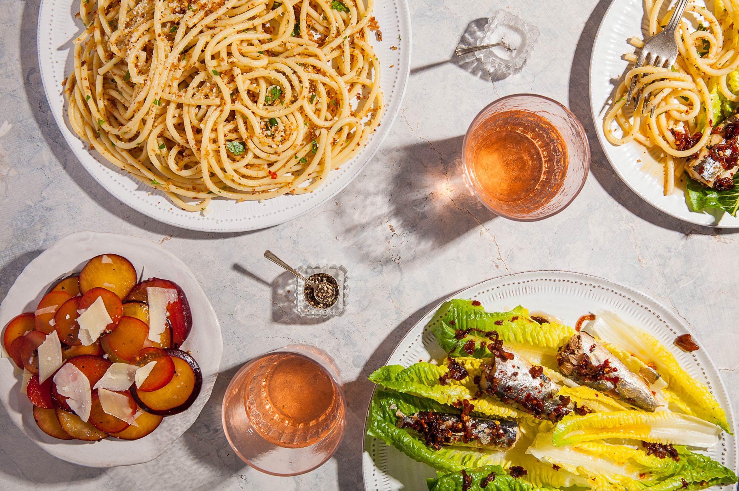 Summery Italian Lunch