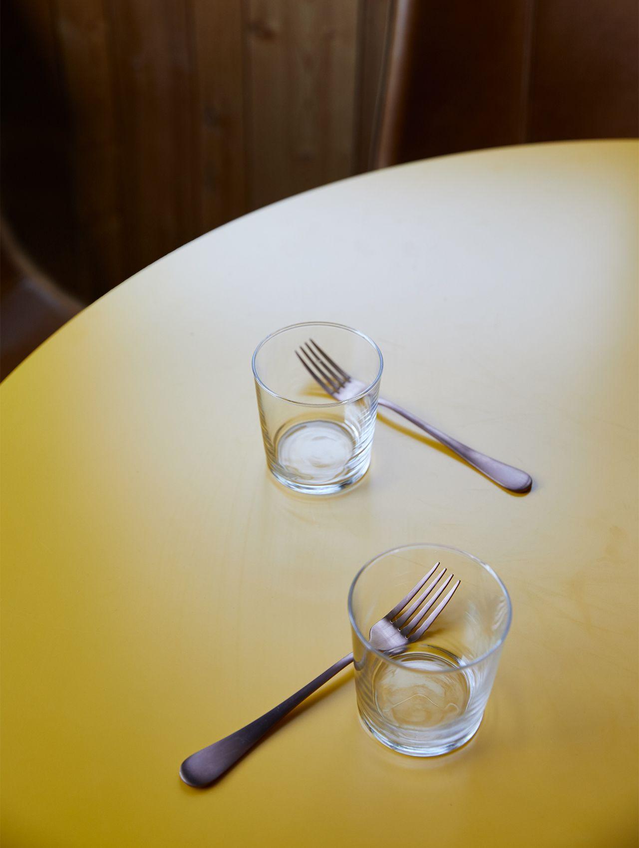 Glasses and Forks