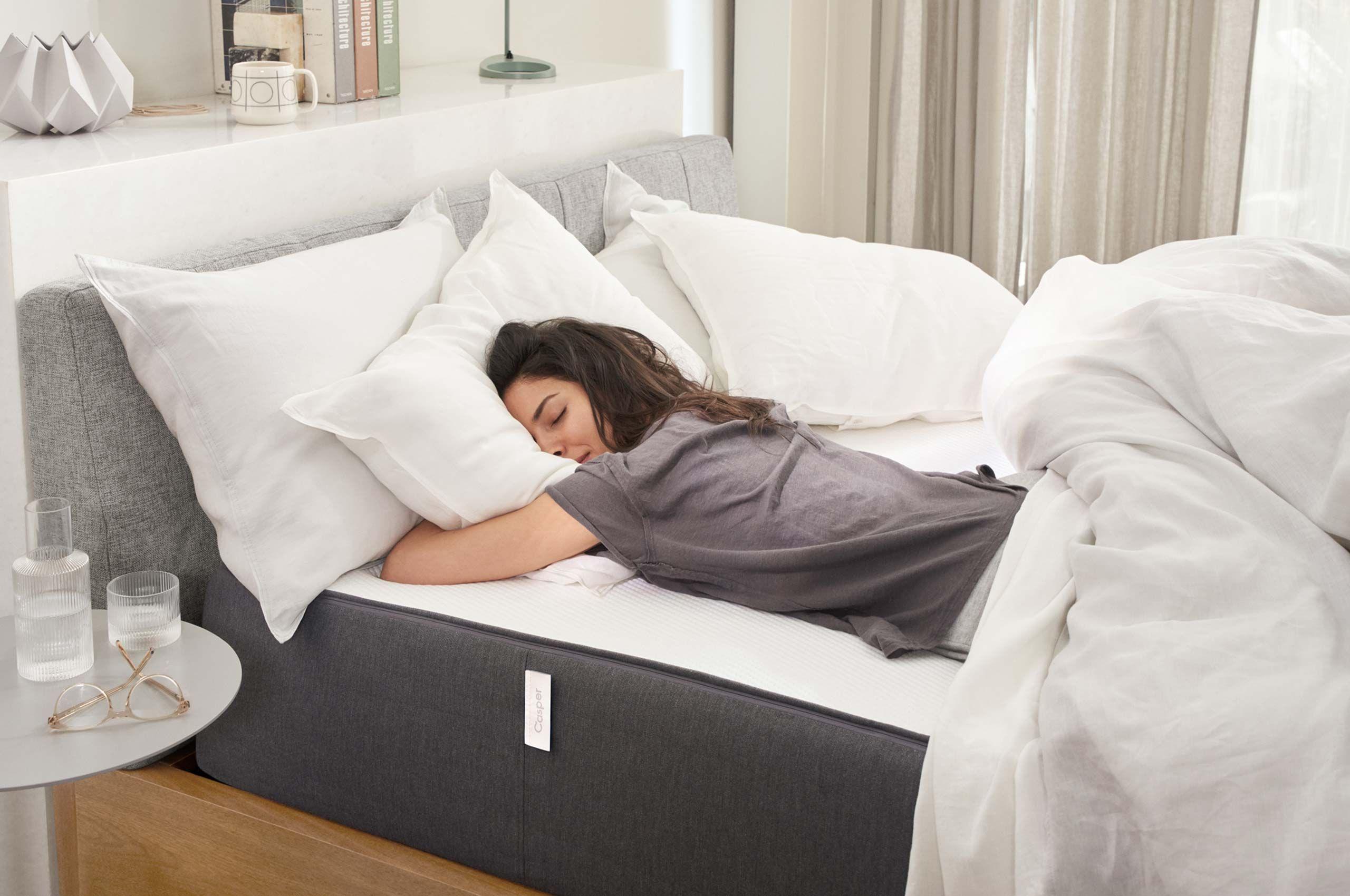 Asleep on a Casper Mattress