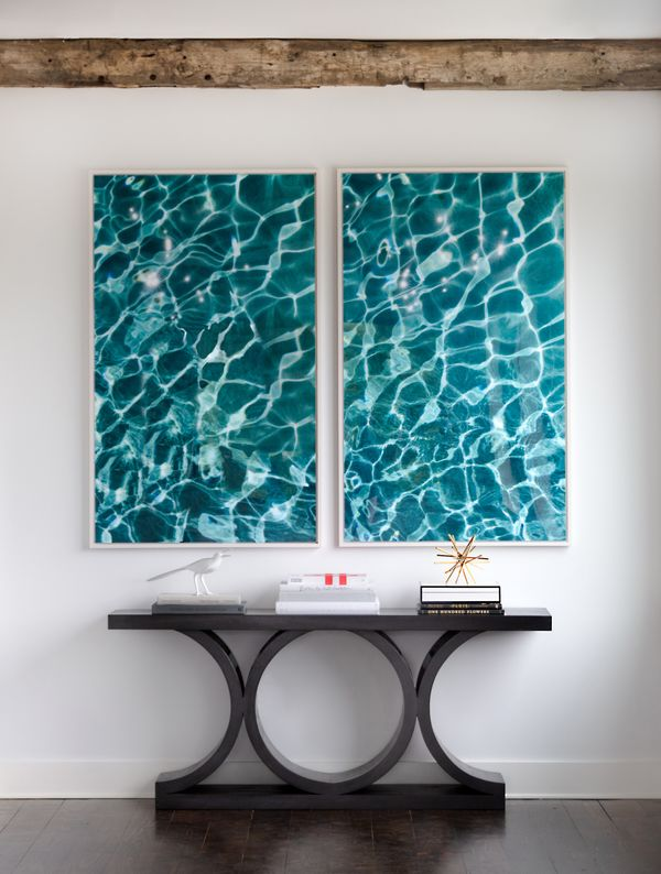 WATER SERIES No. 19 and No. 20,  Limited Edition Photographs