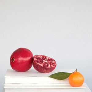 POMEGRANATE AND TANGERINE