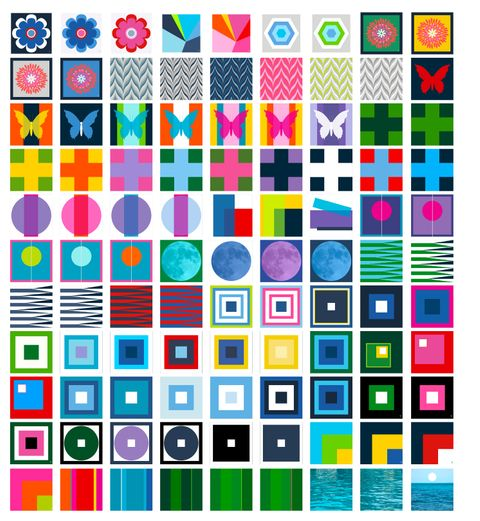 CLICK ON IMAGE to view COLOR BLOCK TOP options