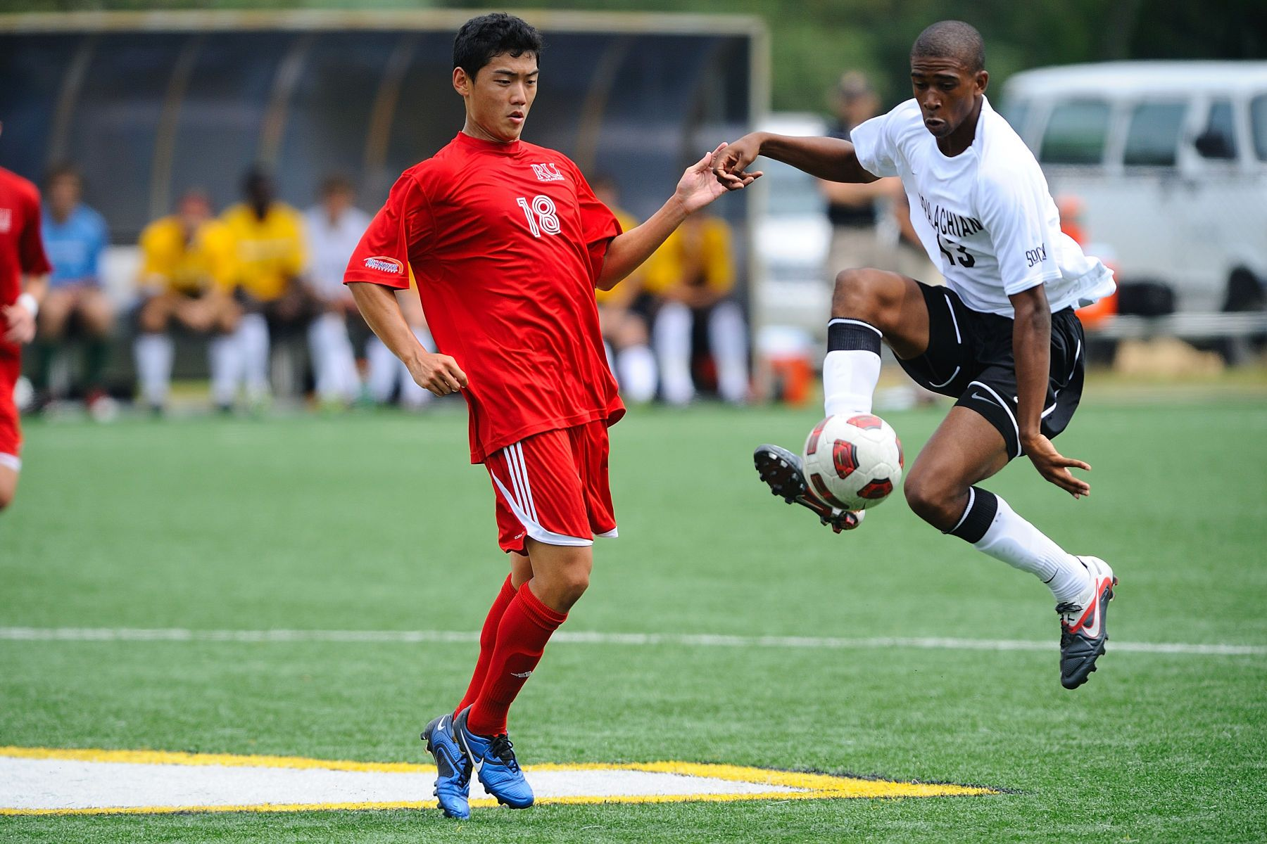 NCAA SOCCER:  AUG 27 Radford at Appalachian State