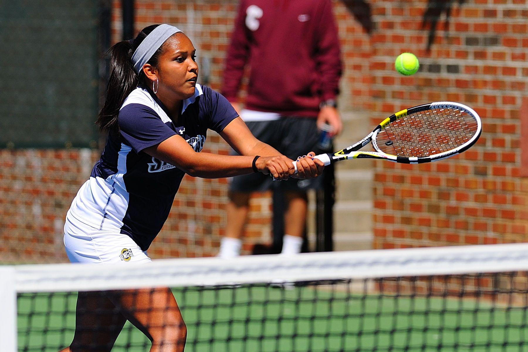 NCAA WOMENS TENNIS:  APR 07 College of Charleston at UNC Greensboro