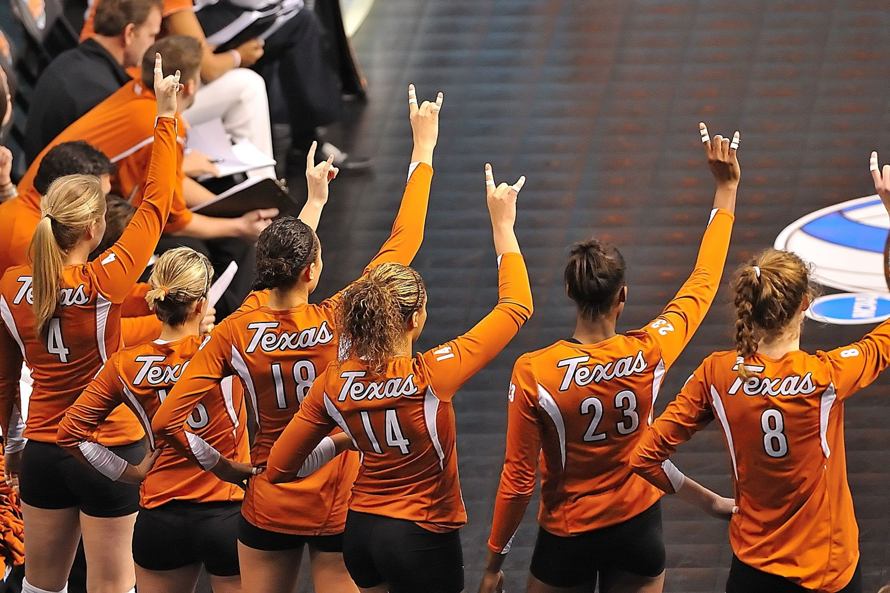 NCAA VOLLEYBALL: DEC 19 Texas vs. Penn State