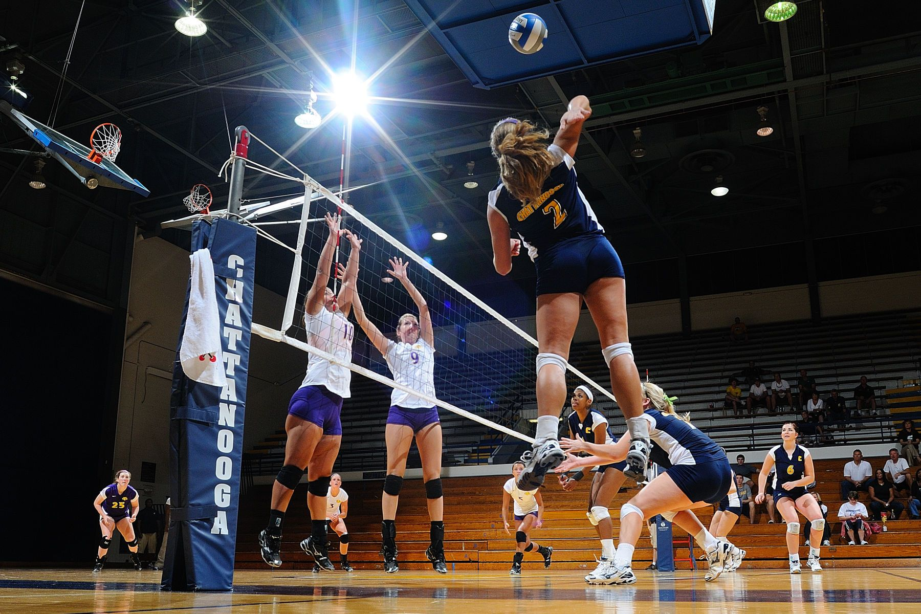 NCAA VOLLEYBALL:  SEP 10 Tennessee Tech at UT-Chattanooga