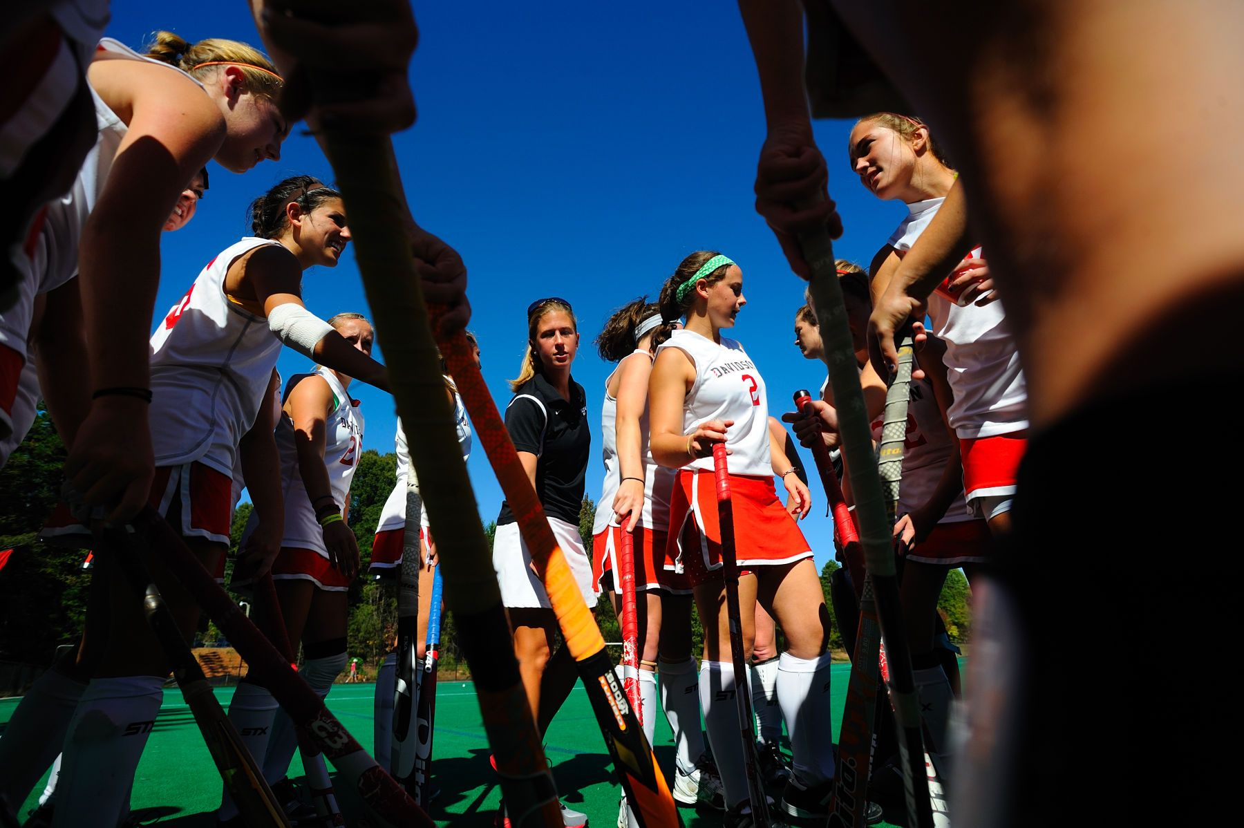 NCAA FIELD HOCKEY:  OCT 16 Liberty at Davidson