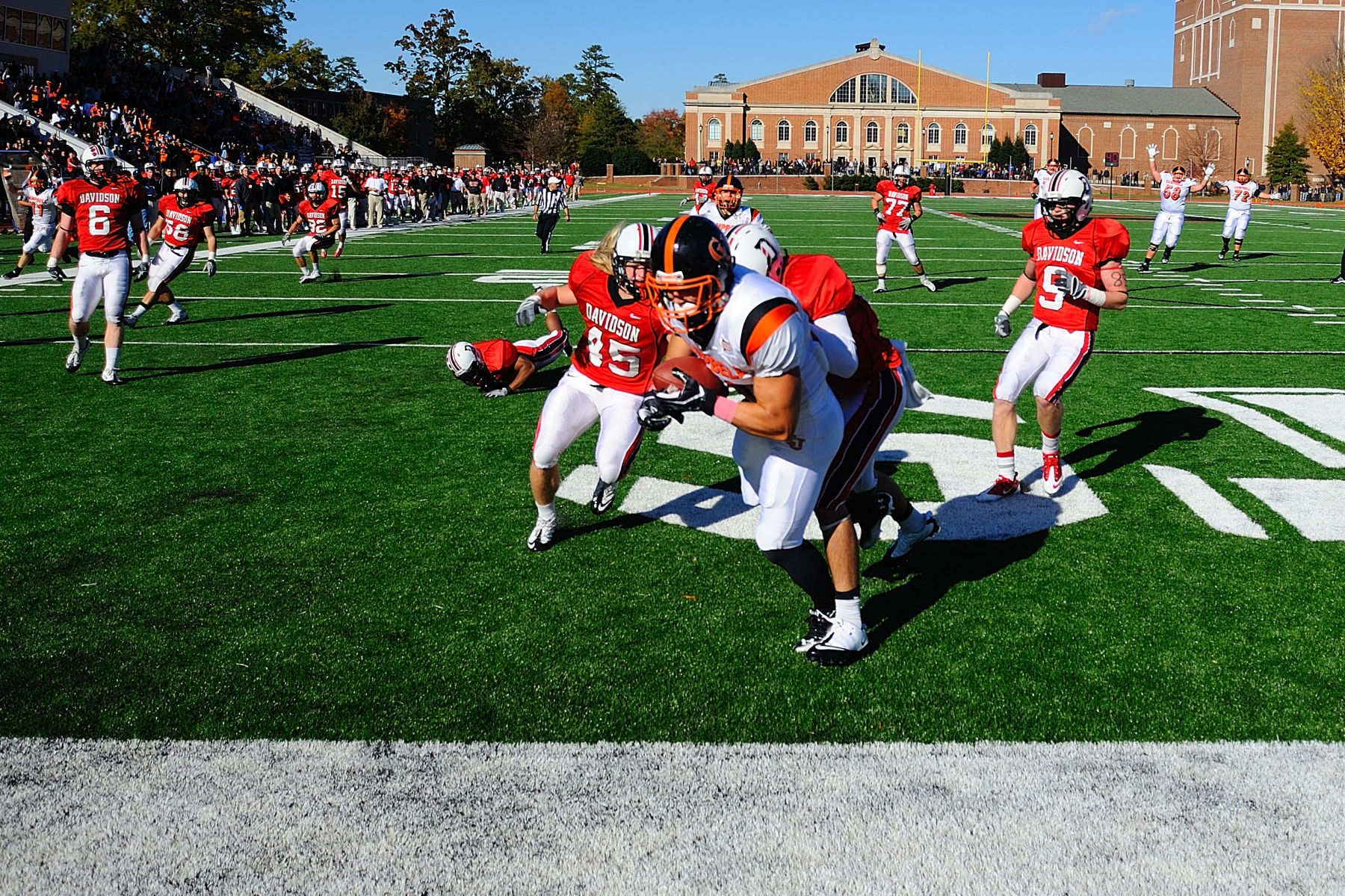 NCAA FOOTBALL:  OCT 29 Campbell at Davidson
