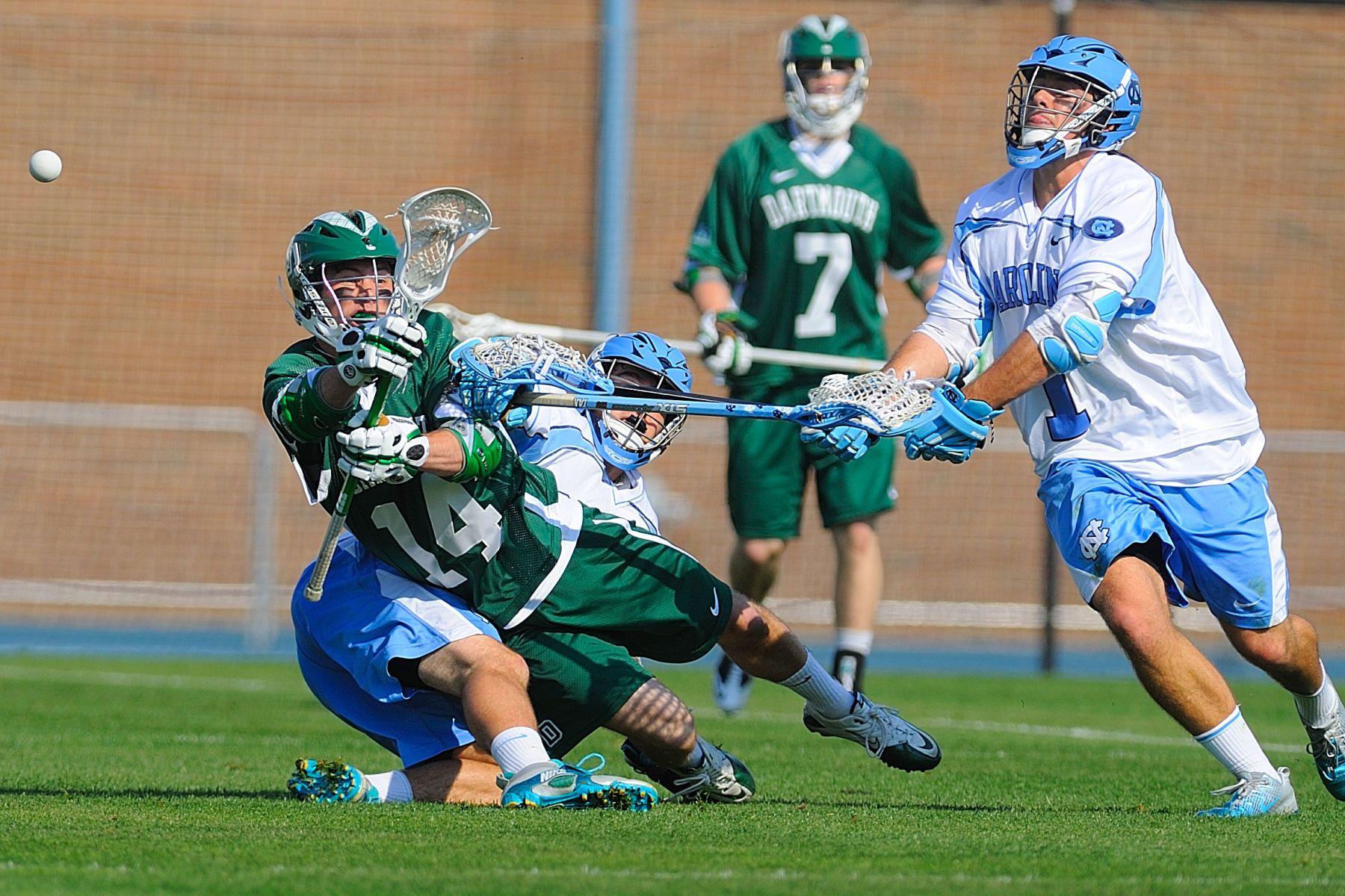 NCAA LACROSSE:  MAR 21 Dartmouth at North Carolina