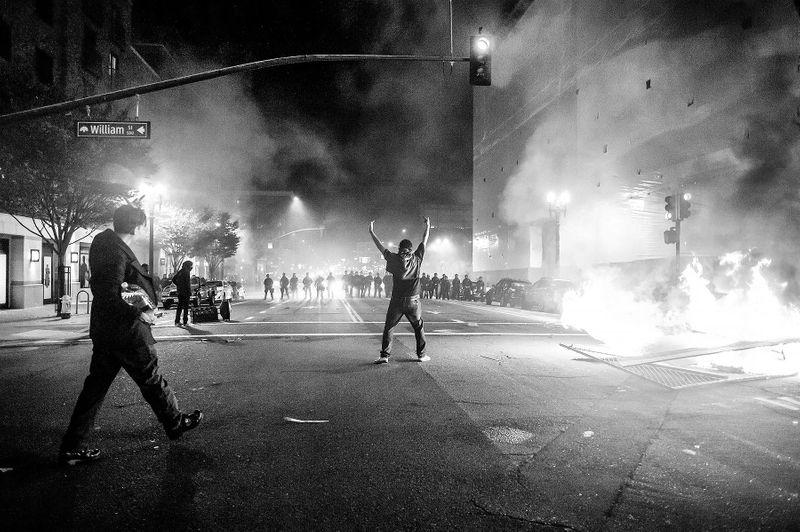 Oakland Riot Post Trump Election