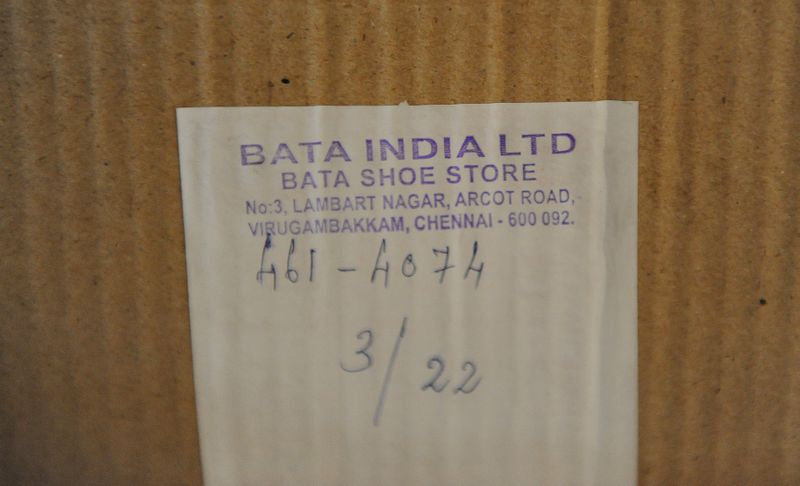 Donated Shoes by Bata