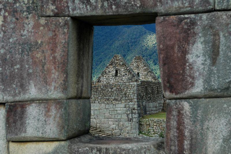 Through the Ruin Window