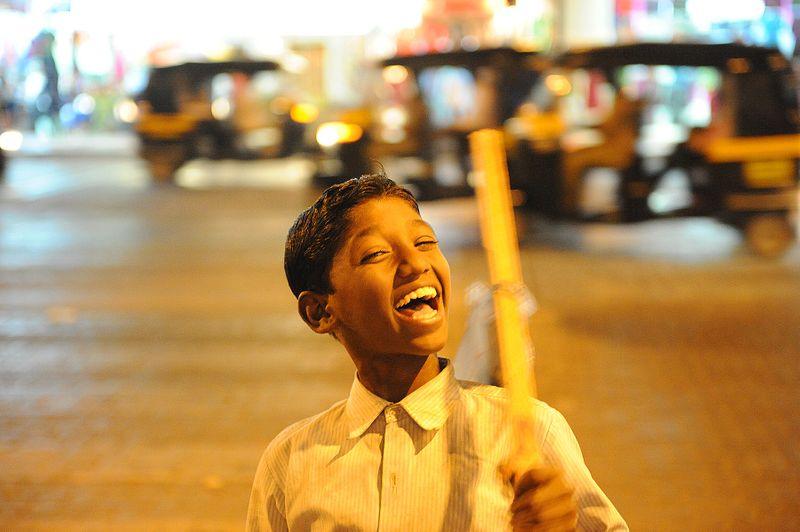 The Happiest Street Kid