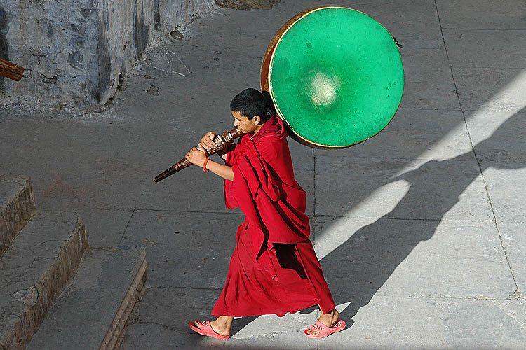 Monk Preparing for Prayers
