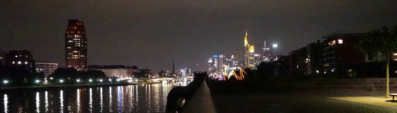 View of Frankfurt from  Ossen