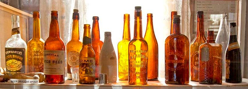 Bodie beer & alcohol bottles