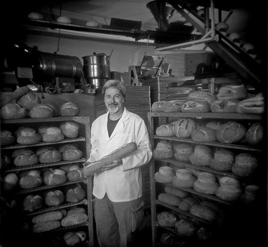 Baker in Bakery